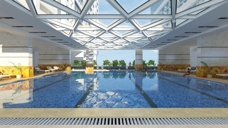 Bể bơi dự án Horizon Tower - Ngoại Giao Đoàn