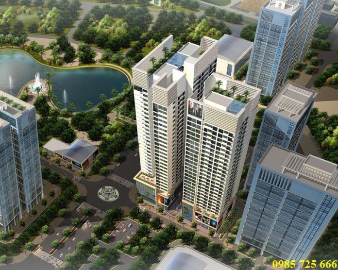 Phối cảnh dự án Horizon Tower N03-T3-T4 Ngoại Giao Đoàn