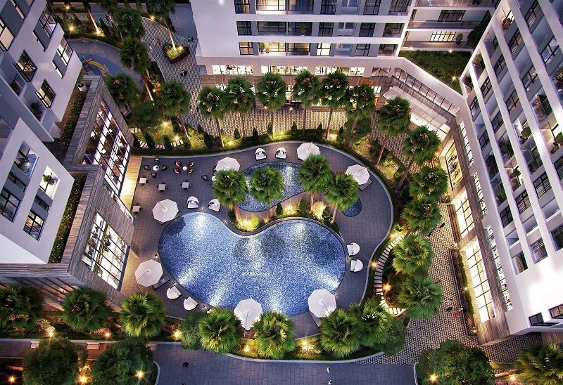 Khuôn viên Dự án Rivera Park Hà Nội - 69 Vũ Trọng Phụng