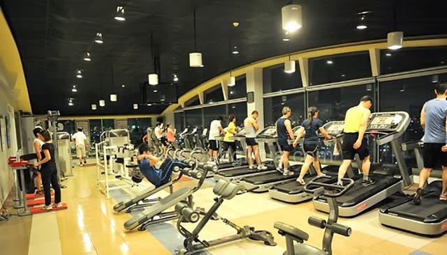 Phòng tập Gym dự án Xuân Mai Spark Dương Nội