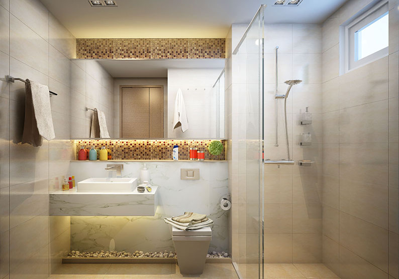 Thiết kế Phòng tắm Rivera Park Hà Nội - 69 Vũ Trọng Phụng