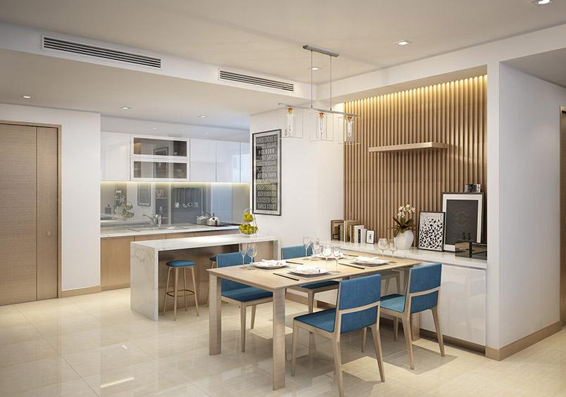 Thiết kế Phòng ăn Dự án Rivera Park Hà Nội - 69 Vũ Trọng Phụng