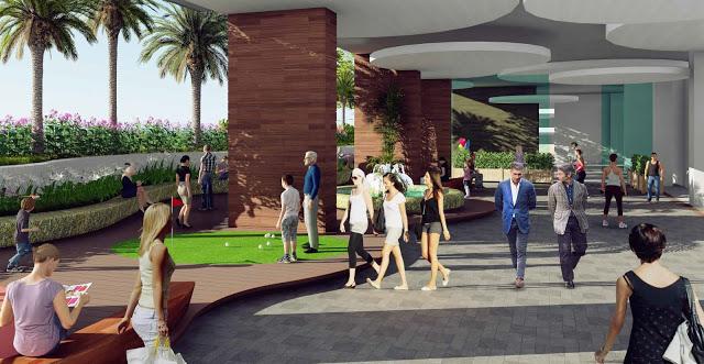 Trung tâm thương mại dự án Xuân Mai Spark Dương Nội