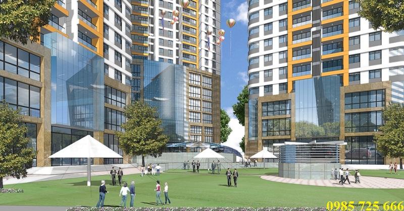Cảnh quan Imperial Plaza 360 Giải Phóng