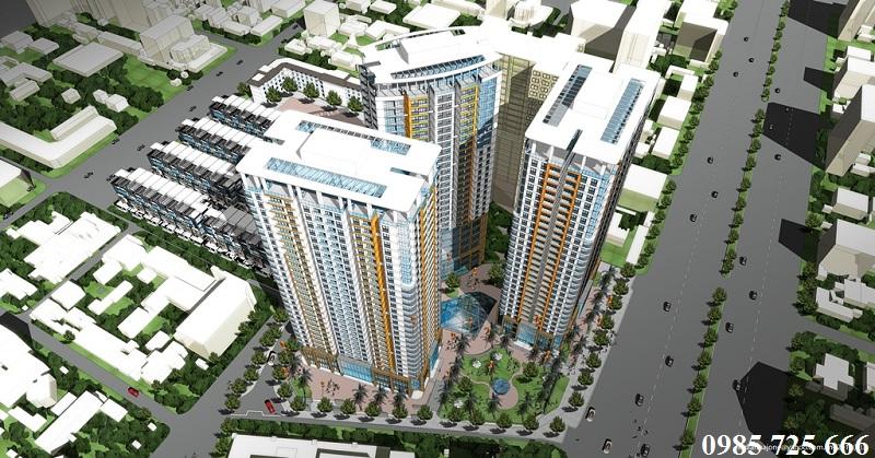 Quy mô dự án Imperial Plaza 360 Giải Phóng