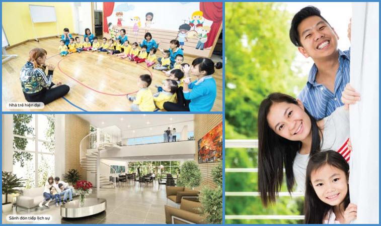 Tiện ích Trung Yên Smile Building - Nguyễn Cảnh Dị