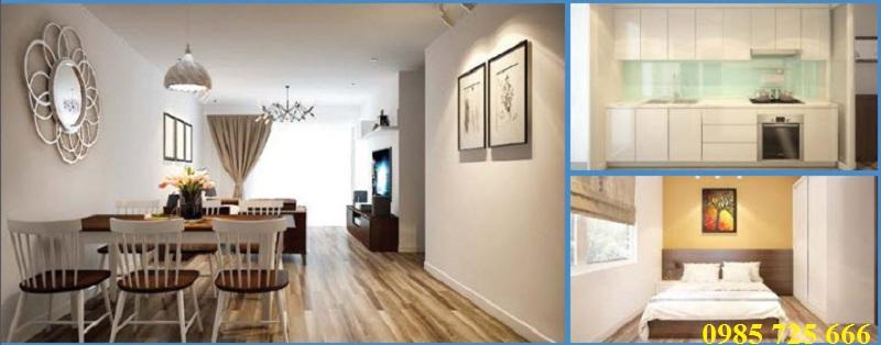 Thiết kế phòng ăn dự án Trung Yên Smile Building - Nguyễn Cảnh Dị