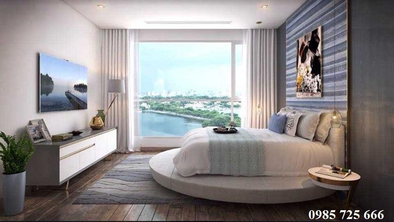 Thiết kế phòng ngủ dự án Trung Yên Smile Building - Nguyễn Cảnh Dị