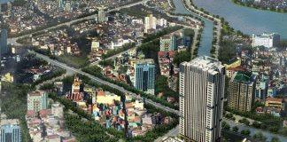 Phối cảnh Trung Yên Smile Building - Nguyễn Cảnh Dị