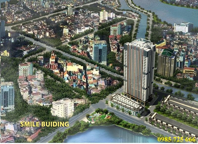 Phối cảnh Trung Yên Smile Building