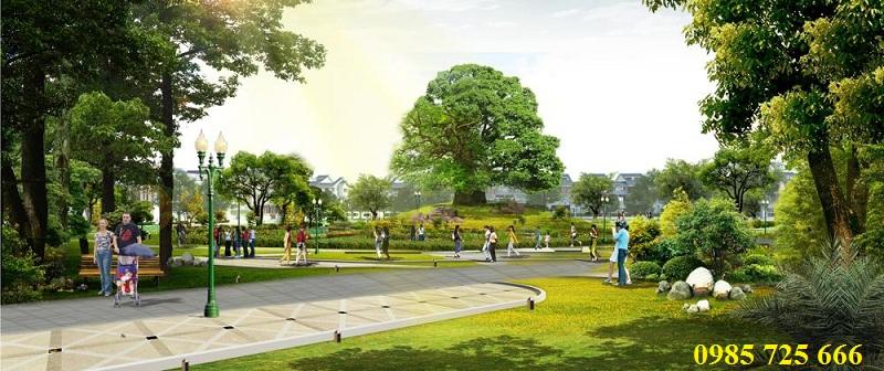 Công viên dự án Hateco Xuân Phương