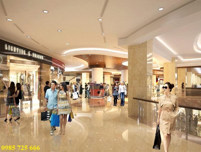 Trung tâm thương mại dự án Hateco Xuân Phương
