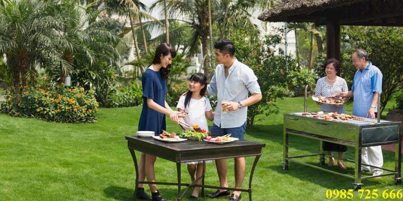 Vườn nướng BBQ tại dự án Hateco Xuân Phương