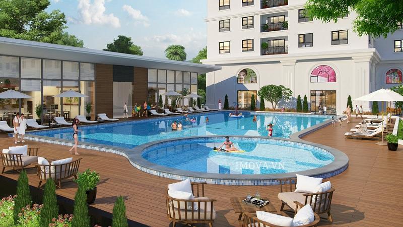 Bể bơi dự án Eco Lake View - 32 Đại Từ