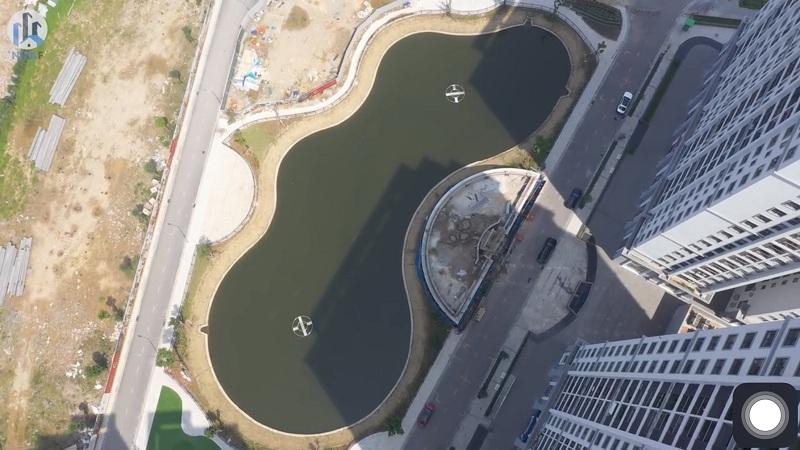 Flycam thực tế dự án Hateco Apollo Xuân Phương