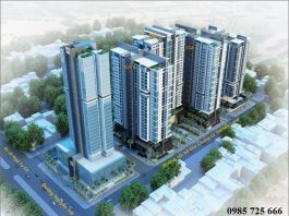 Phối cảnh dự án Golden Land 275 Nguyễn Trãi