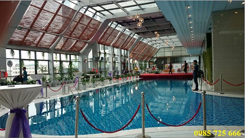Bể bơi dự án Golden Land 275 Nguyễn Trãi
