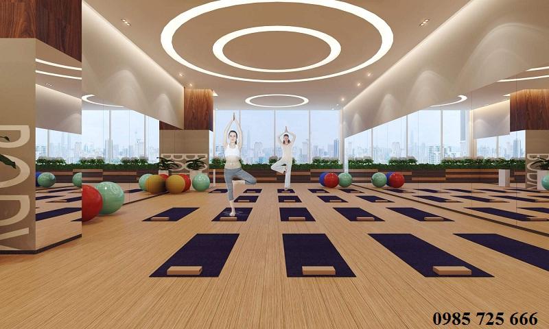 Phòng tập Gym dự án Golden Land 275 Nguyễn Trãi