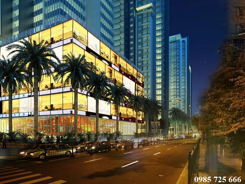 Trung tâm thương mại dự án Golden Land 275 Nguyễn Trãi