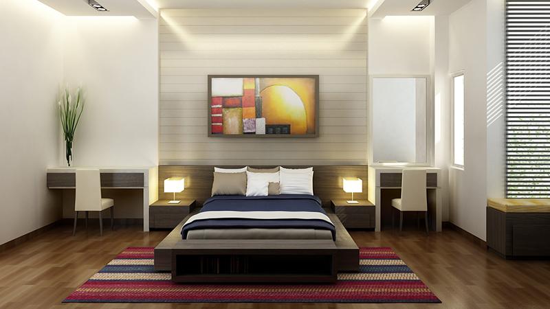 Phong cách thiết kế nội thất phòng ngủ 2017