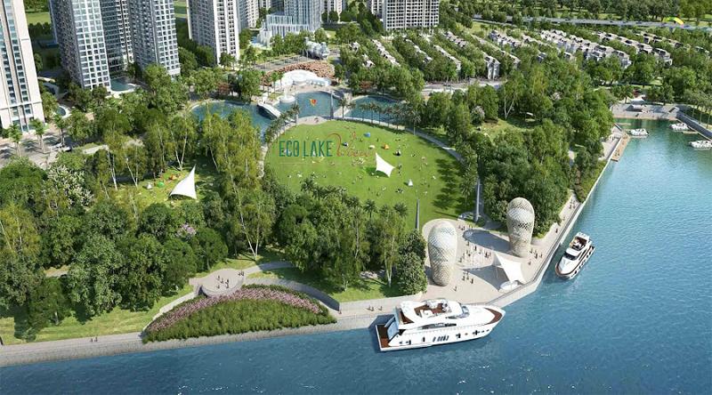 Tiện ích vượt trội dự án Eco Lake View 32 Đại Từ
