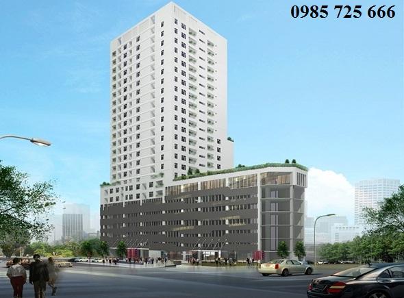 Phối cảnh dự án Hamilton Complex 317 Trường Chinh