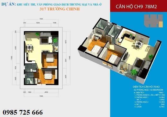 Thiết kế Hamilton Complex 317 Trường Chinh
