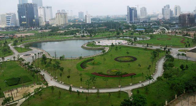 Golden Park Tower số 2 Phạm Văn Bạch View Công Viên Cầu Giấy