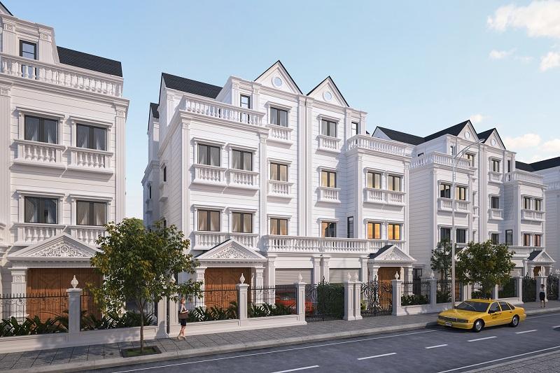 Biệt thự song lập dự án Athena Fulland Nguyễn Xiển