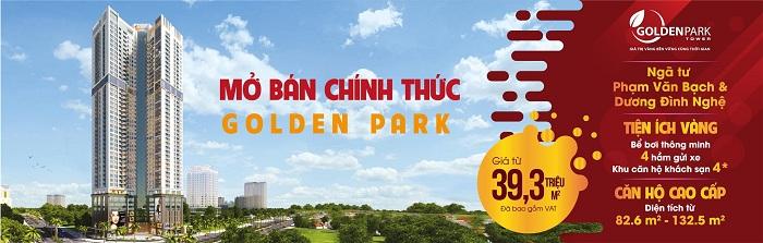 Chính sách bán hàng Golden Park Tower Cầu Giấy