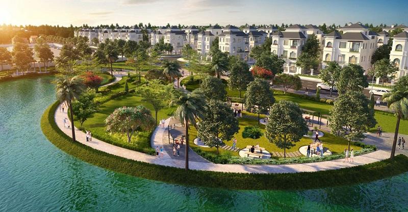 Biệt thự mặt hồ Vinhomes Green Villas Tây Mỗ - Đại Mỗ