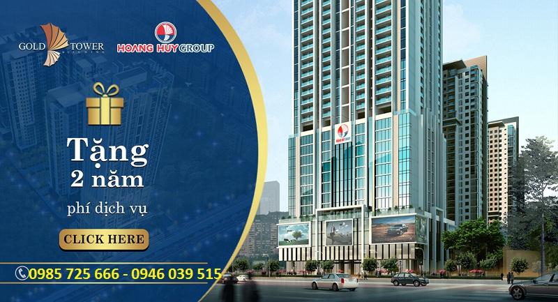 Chính sách bán hàng Gold Tower 275 Nguyễn Trãi