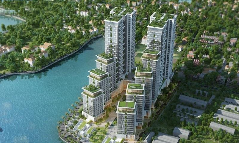 Phối cảnh chung cư Sun Grand City Lotus Habour Tây Hồ