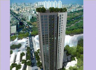 Phối cảnh dự án chung cư Bohemia Residence Nguyễn Huy Tưởng