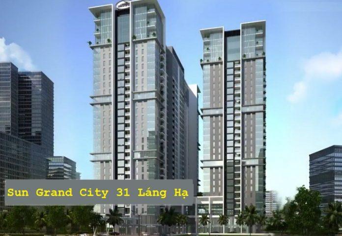 Chung cư Sun Grand City 31 Láng Hạ