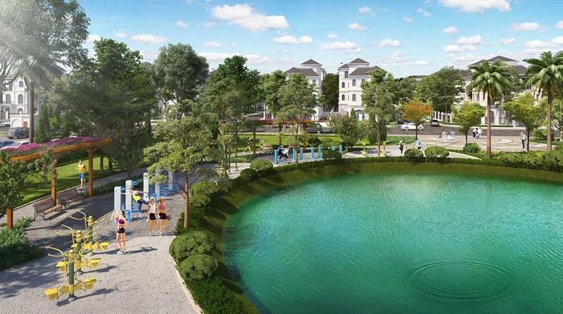 Công viên GYM ngoài trời dự án Vinhomes Smart City Tây Mỗ - Đại Mỗ