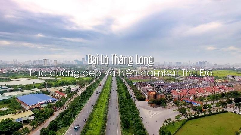 Tuyến đường Đại Lộ Thăng Long đi dự án Vincity Sportia Tây Mỗ - Đại Mỗ