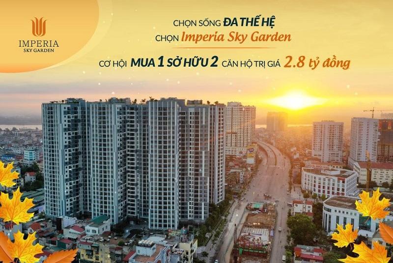 Dự án Imperia 2 Sky Garden 423 Minh Khai 2020