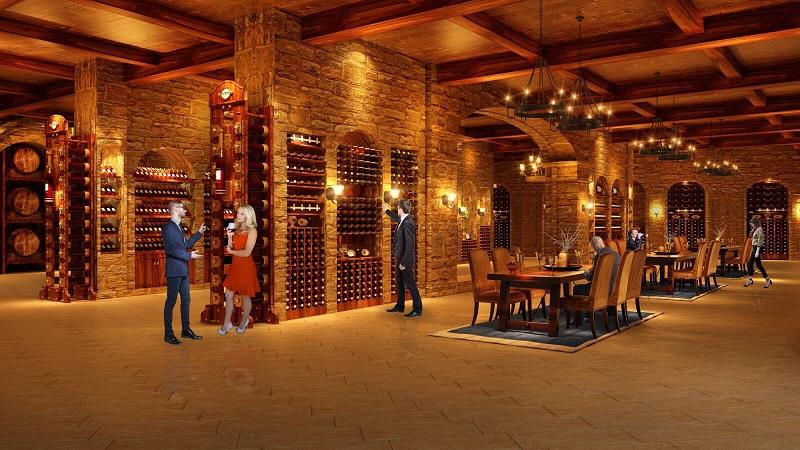 Hầm rượu dự án Hateco Laroma Chùa Láng