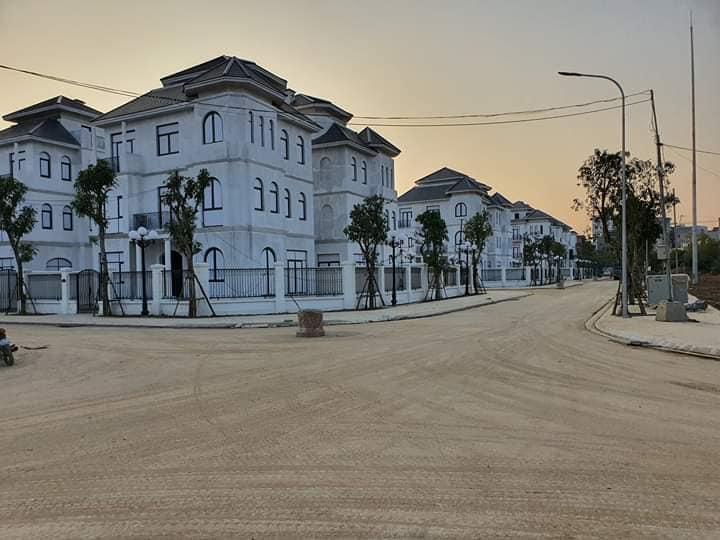 Hình ảnh thực tế 98 lô biệt thự đơn lập siêu cao cấp Vinhomes Green Villas Tây Mỗ 2