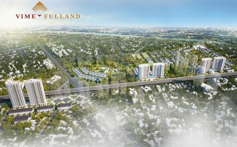 Không gian xanh Athena Fulland Nguyễn Xiển