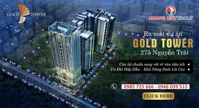 Mở bán Gold Tower 275 Nguyễn Trãi