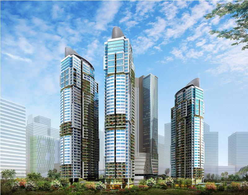 Phối cảnh chung cư Sungroup Constrexim Complex Xuân Thủy - Cầu Giấy