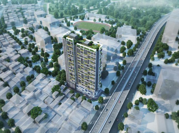 Phôí cảnh Videc Galaxy Tower Nguyễn Xiển