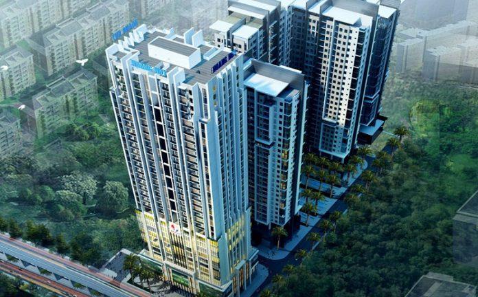 Phối cảnh chung Gold Tower 275 Nguyễn Trãi