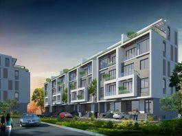 Phối cảnh dự án liền kề Riverside Garden 349 Vũ Tông Phan