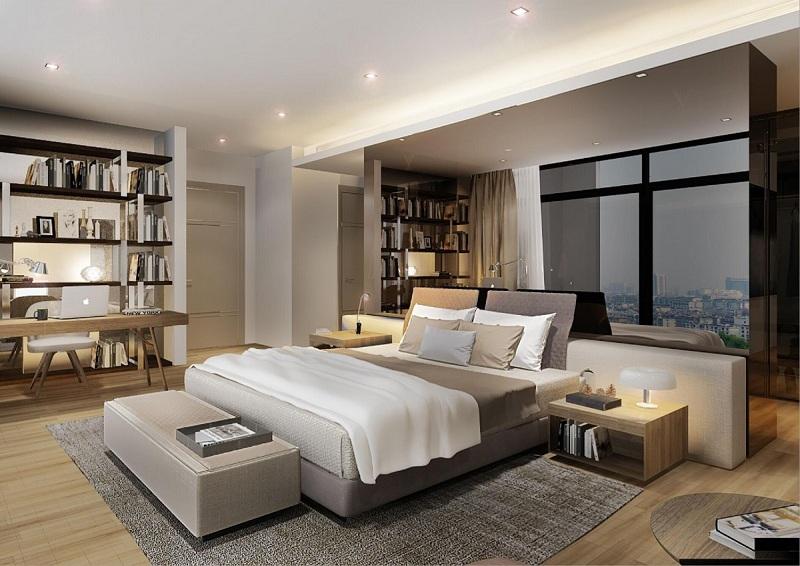 Phòng ngủ Sun Grand City 31 Láng Hạ
