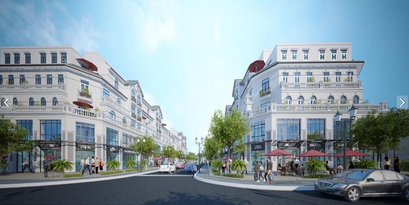 Shophouse Thương Mại Dịch Vụ Dự Án 1 Vinhomes Smart City Tây Mỗ - Đại Mỗ