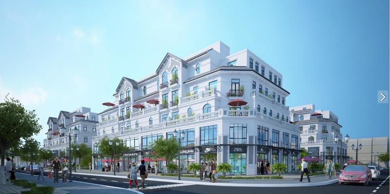 Shophouse Thương Mại Dịch Vụ 3 Dự Án Vinhomes Smart City Tây Mỗ - Đại Mỗ