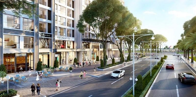 Shophouse dự án Vincity Ocean Park Gia Lâm